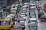 Движение в Киеве практически полностью остановилось