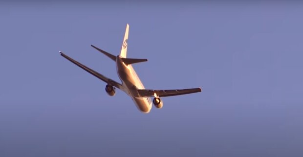 В Польше упал самолёт. Фото: скриншот YouTube