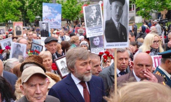 В Киеве проходит акция «Бессмертный полк»