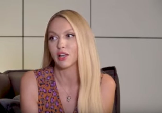 Оля Полякова, фото: Скриншот YouTube