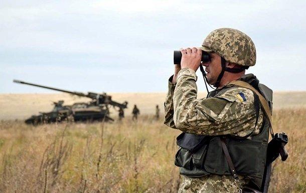 Перемирие на Донбассе опять нарушено. Враг накрыл минометным огнем украинских воинов
