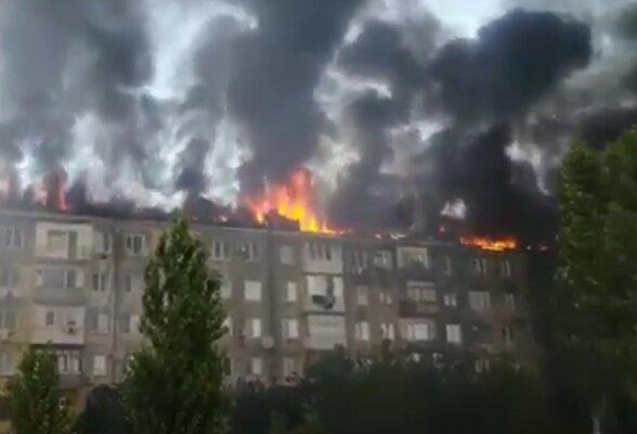 Пожар. Фото: скриншот YouTube