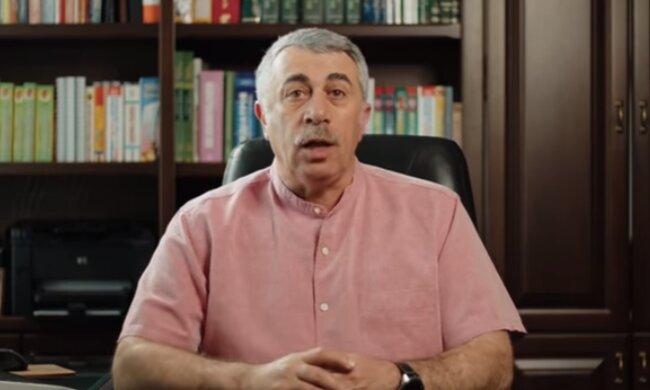 Евгений Комаровский. Фото: скриншот YouTube-видео