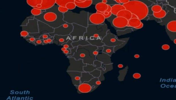 Коронавирус в Африке. Фото: скриншот YouTubec