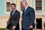 Во время президентства Владимира Зеленского страна начала развиваться вдвое быстрее! Так заявил премьер Израиля во время официального визита в Украину