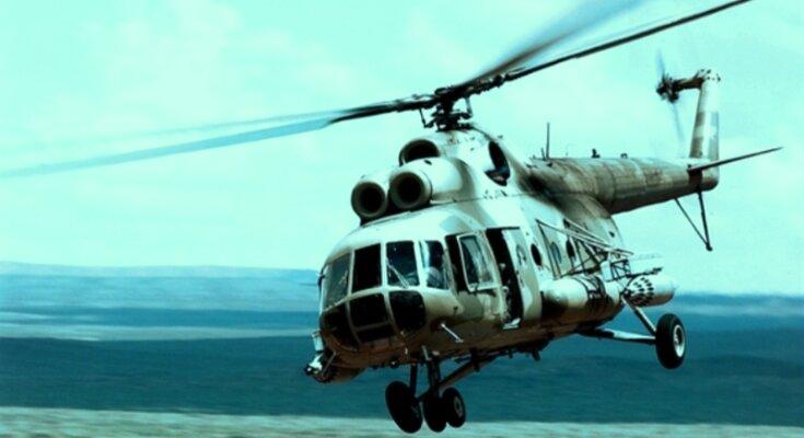 Вертолет. Фото: скриншот YouTube