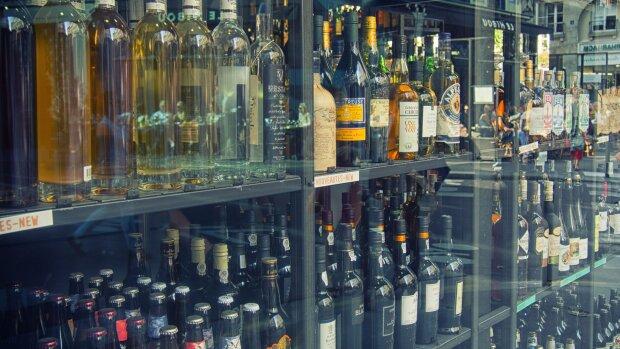 Вітрина винного магазину. Фото YouTube, скріншот