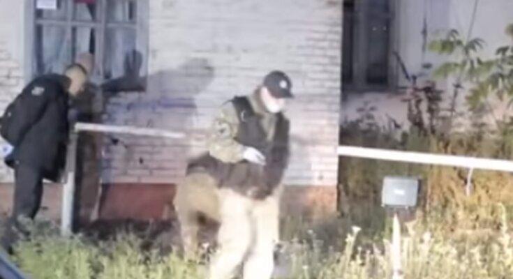 "Ликвидация ""полтавского"" террориста. Фото: скриншот YouTube"