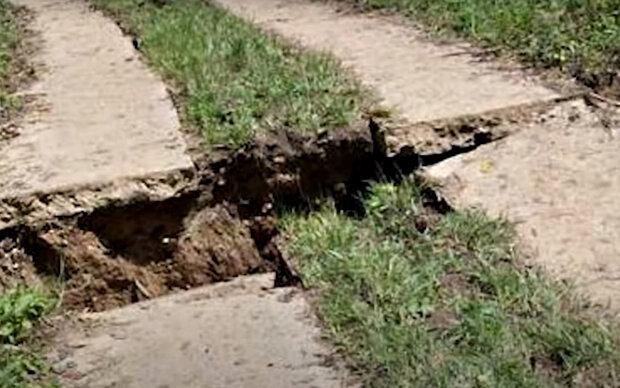 Землетрясение. Фото: скриншот YouTube-видео.