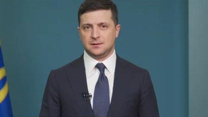 Владимир Зеленский. Фото: скрин Офис Президента