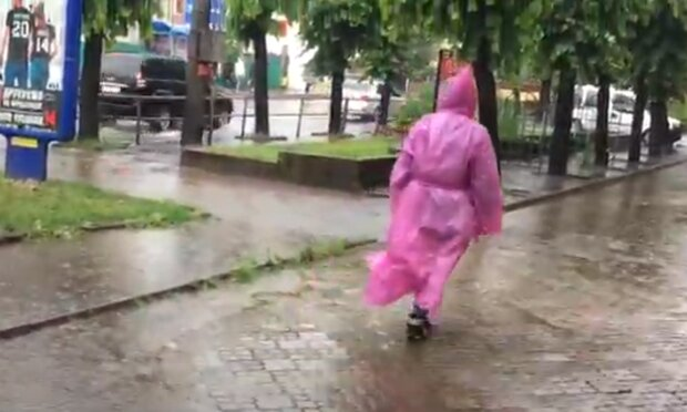 Дощ. Фото: скріншот YouTube-відео