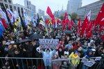 Митинг протеста в Москве. Фото: скриншот YouTube