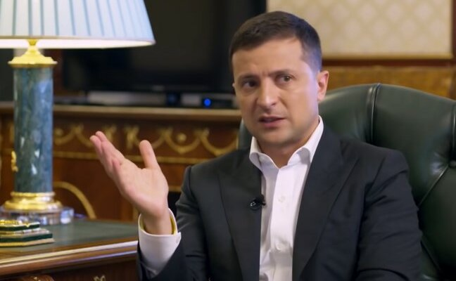 Владимир Зеленский. Фото: YouTube, скрин