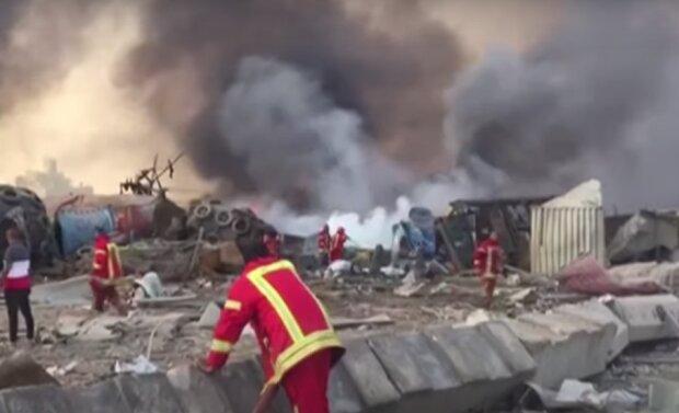 В Бейруте произошел взрыв. Фото: скриншот видео