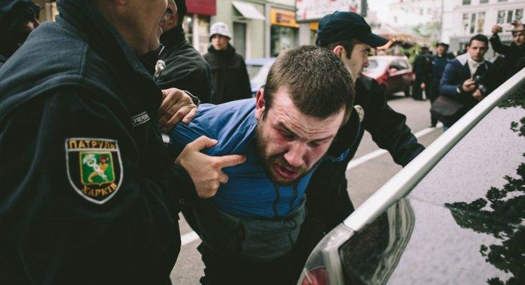 Массовые драки в Харькове