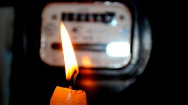 Отключение электроэнергии в Украине, фото — Информатор