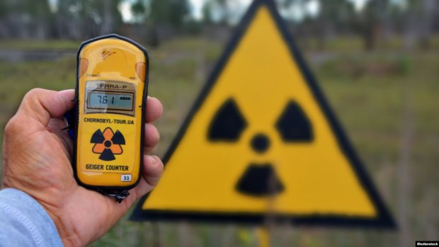 радиационный фон, Киев, ГСЧС