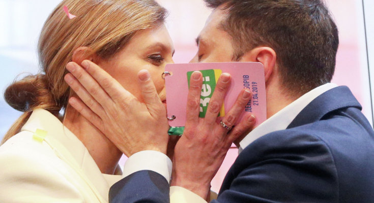 Парижане в восторге: во Франции помпезно встретили Владимира и Елену Зеленских