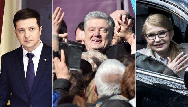 Зеленский с «Квартал 95», Тимошенко на ICTV, Порошенко в эфире ТРК «Украина» — последний день агитации