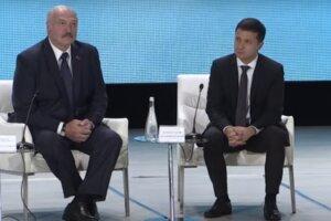 Владимир Зеленский и Александр Лукашенко. Фото: скриншот видео
