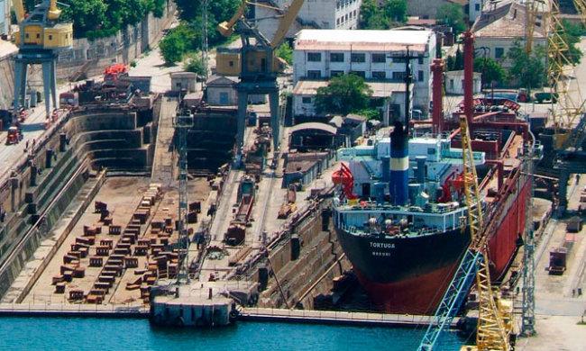 Завод Порошенка будет осуществлять ремонт кораблей РФ в Крыму