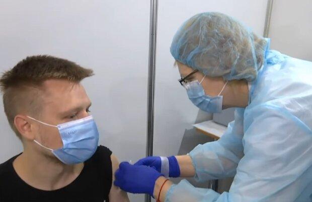Вакцинация. Фото: скриншот Youtube