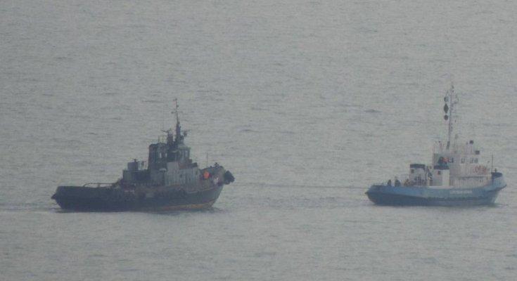 Передача украинских кораблей