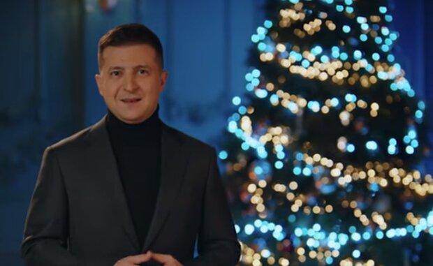 Поздравление от Зеленского с католическим Рождеством. Фото: скриншот YouTube-видео