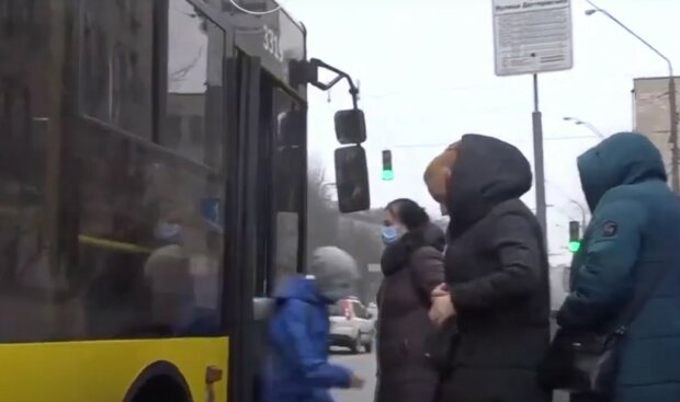 Общественный транспорт. Фото: скриншот Youtube