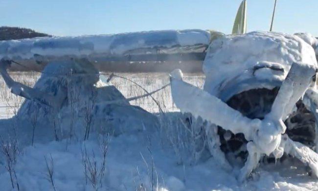 Самолет АН-2 разбился