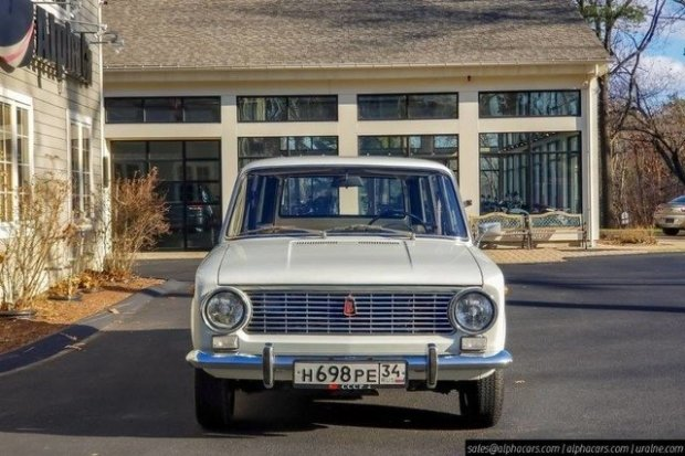 В США за огромные деньги продали старые советские «Жигули» (ФОТО)