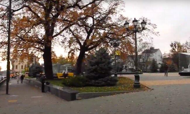 Погода в Харькове. Фото: скриншот YouTube