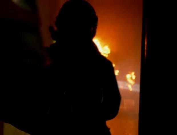 Пожар. Фото: скриншот youtube-видео