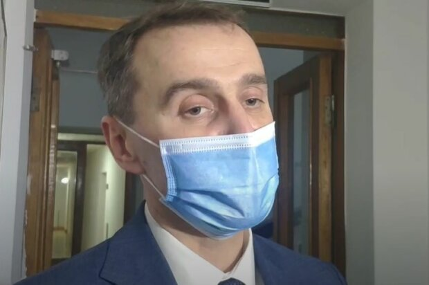 Главный санврач Виктор Ляшко. Фото: скриншот Youtube