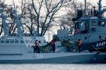 Украинские корабли вернули без вооружения и навигации