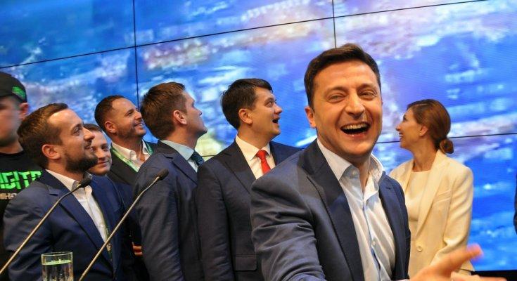 Выборы в Раду: показано, что творится в штабе Зеленского