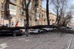 Ураган в Одессе, фото: скриншот с youtube