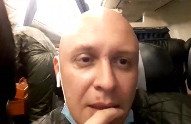 Видео из самолёта МАУ может быть заказным. Фото: скрин Антон Гура