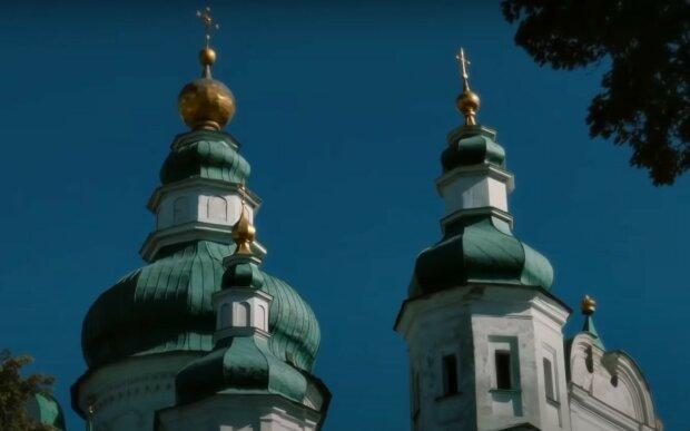 Храм. Фото: скріншот YouTube-відео