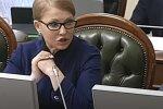 Юлия Тимошенко. Фото: скриншот YouTube.
