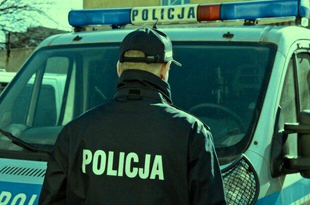 Польская полиция. Фото: скриншот YouTube