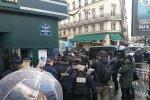 Центр Парижа заблокирован, фото: Обозреватель