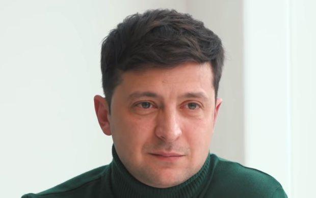 Владимир Зеленский, фото: скриншот интервью Владимира Зеленского