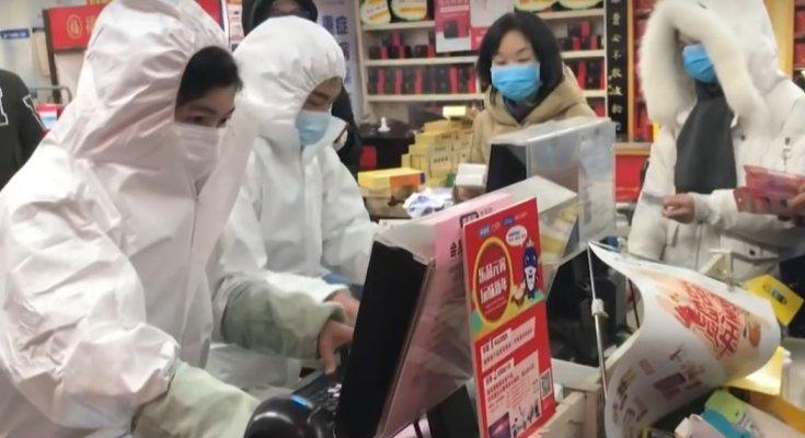 Коронавирус в Китае, скриншот YouTube