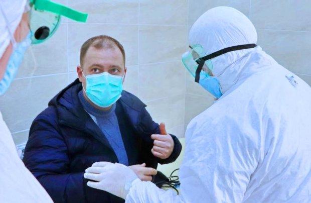 Диагностика коронавируса. Фото: Zik