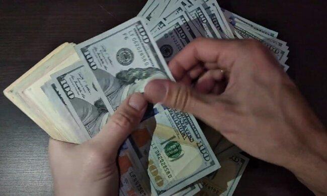 Доллары. Фото: YouTube, скрин