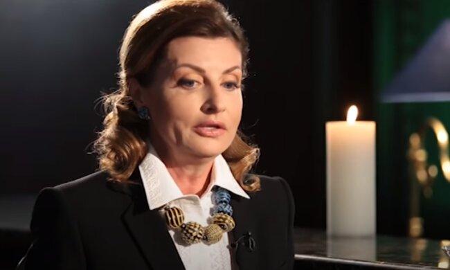 Марина Порошенко: Скриншот YouTube