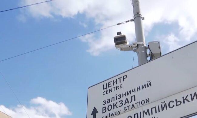 Камера фиксации нарушений.  Фото: скриншот YouTube-видео