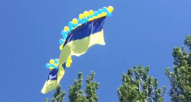 Флаг Украины. Фото: скриншот Twitter