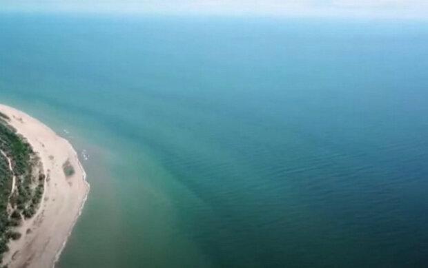 Море. Фото: скриншот YouTube-видео.